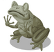Petrified Frog