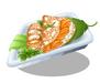 Salmon Crepes