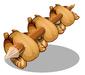 Giant Chicken Skewer