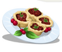 Cranberry Walnut Tarts