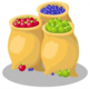 Bags of Fruit