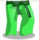 Leafy Karate Pants