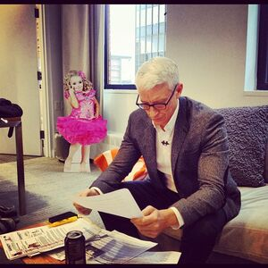 Anderson Cooper in office with Honey Boo Boo cutout.jpg