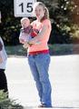 Anna with newborn Kaitlyn