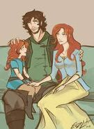 Imira et sa famille