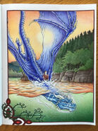 Saphira and Eragon at Leona Lake
