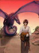 Saphira et Eragon