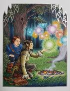 Arya et Eragon rencontrent des Esprits