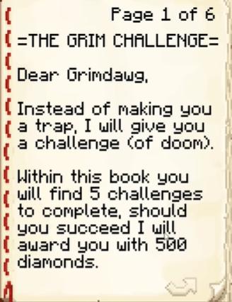 GRIM Challenge!