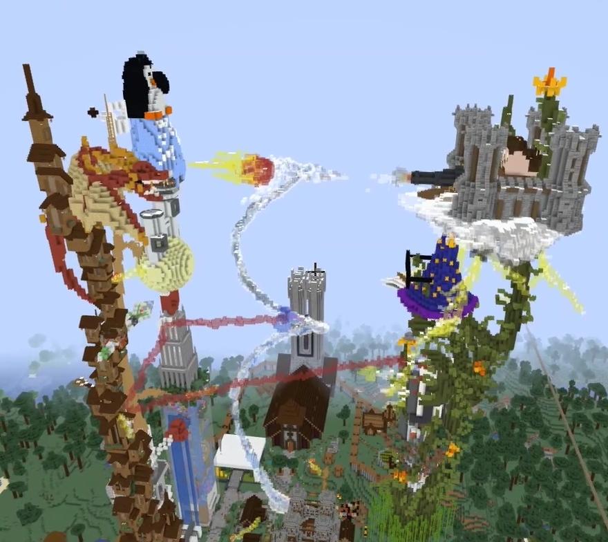 Hermitcraft Build Off