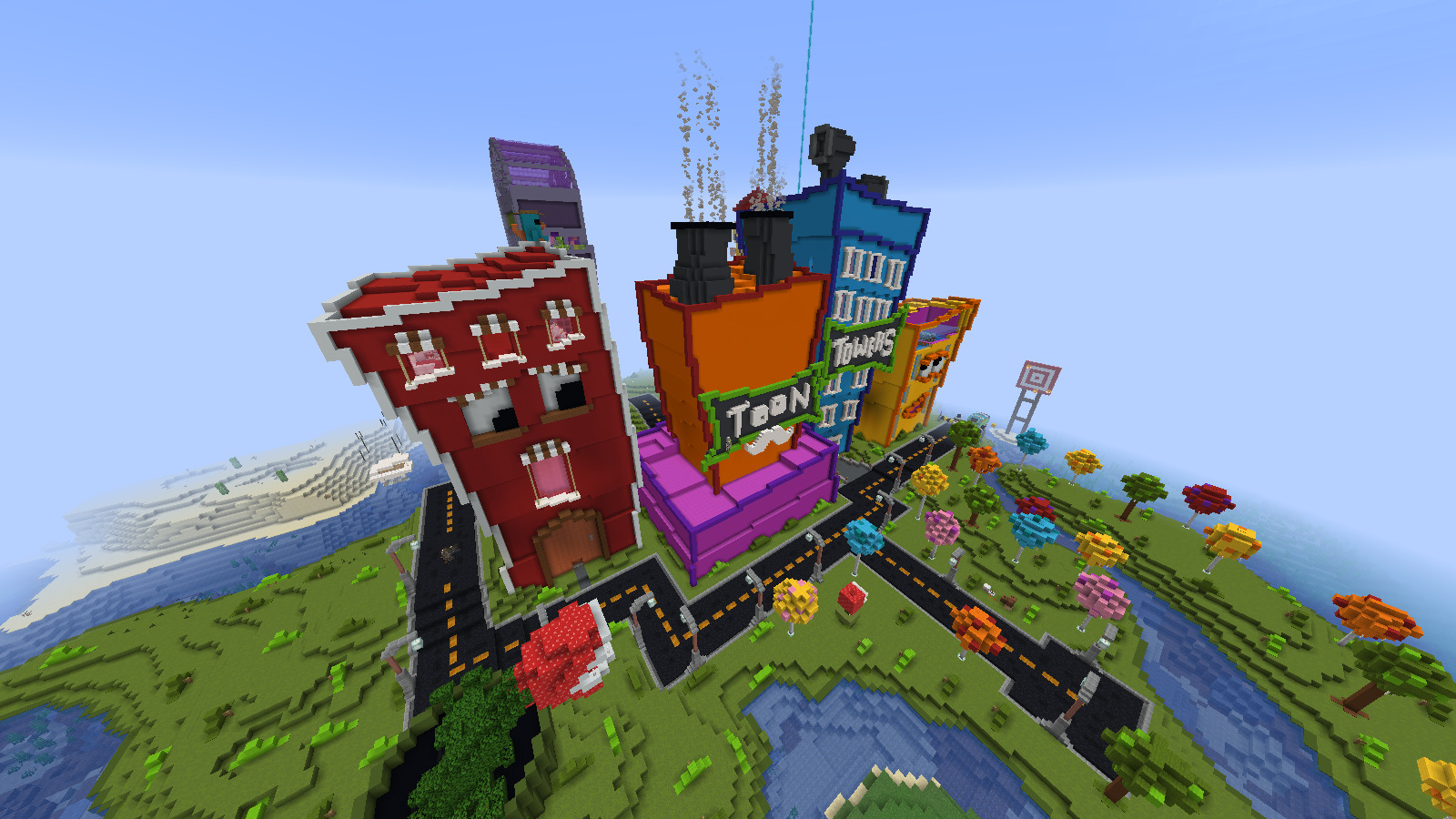 Toon Towers