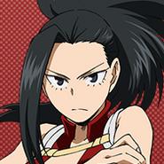 Momo Yaoyorozu Anime Portrait