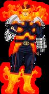 Endeavor, drugi kostium