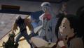 Tsuyu and Mezo save Momo
