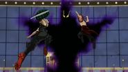 Katsuki i Eijiro atakują Kurogiri
