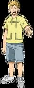 Mashirao Ojiro codzienny ubiór