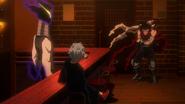 Tomura i Kurogiri poznają Zabójcę bohaterów