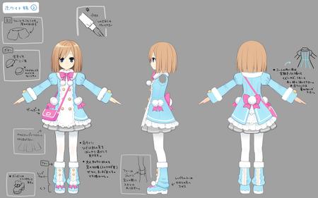 Rom Concept Art for Hyperdimension Neptunia mk2