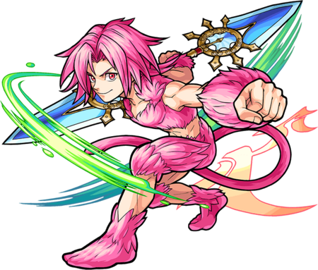 Zidane Tribal (Trans) for Monster Strike