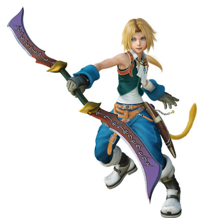 Zidane Tribal for Dissidia Final Fantasy NT