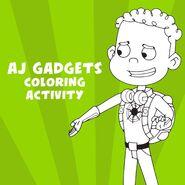 AJ Gadgets Coloring