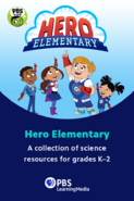 Hero Elementary Promo Poster (PBS Learning Media)
