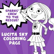 Sparks' Crew to The Rescue (Lucita Sky Quote)