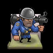 Soldier tile