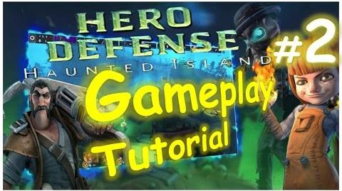 Let's Play Hero Defense - Haunted Island - 002 - BURN BURN BURN!!! - Playthrough Gameplay