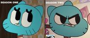 Gumball season 1 and 2 differences by wani ramirez-d5iqkln