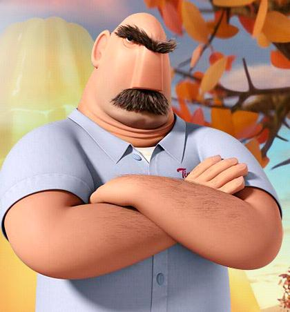 20+ Mayor Cloudy With A Chance Of Meatballs Characters Wallpapers