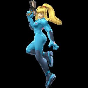 Zero Suit Samus - Super Smash Bros. Brawl