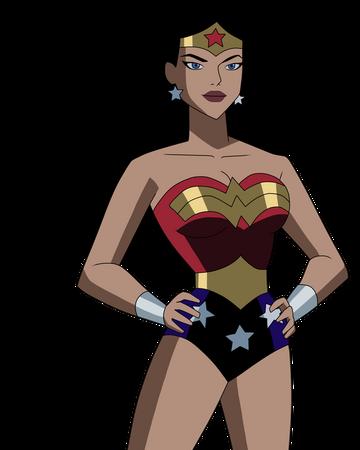 Wonder Woman Univers Anime Dc Wiki Heros Fr Fandom