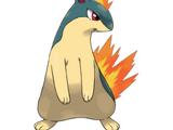 Quilava (Pokémon Series)