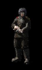 Soviet tank crewman