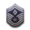 Senior Master Sergeant (Diamond denotes First Sergeant)