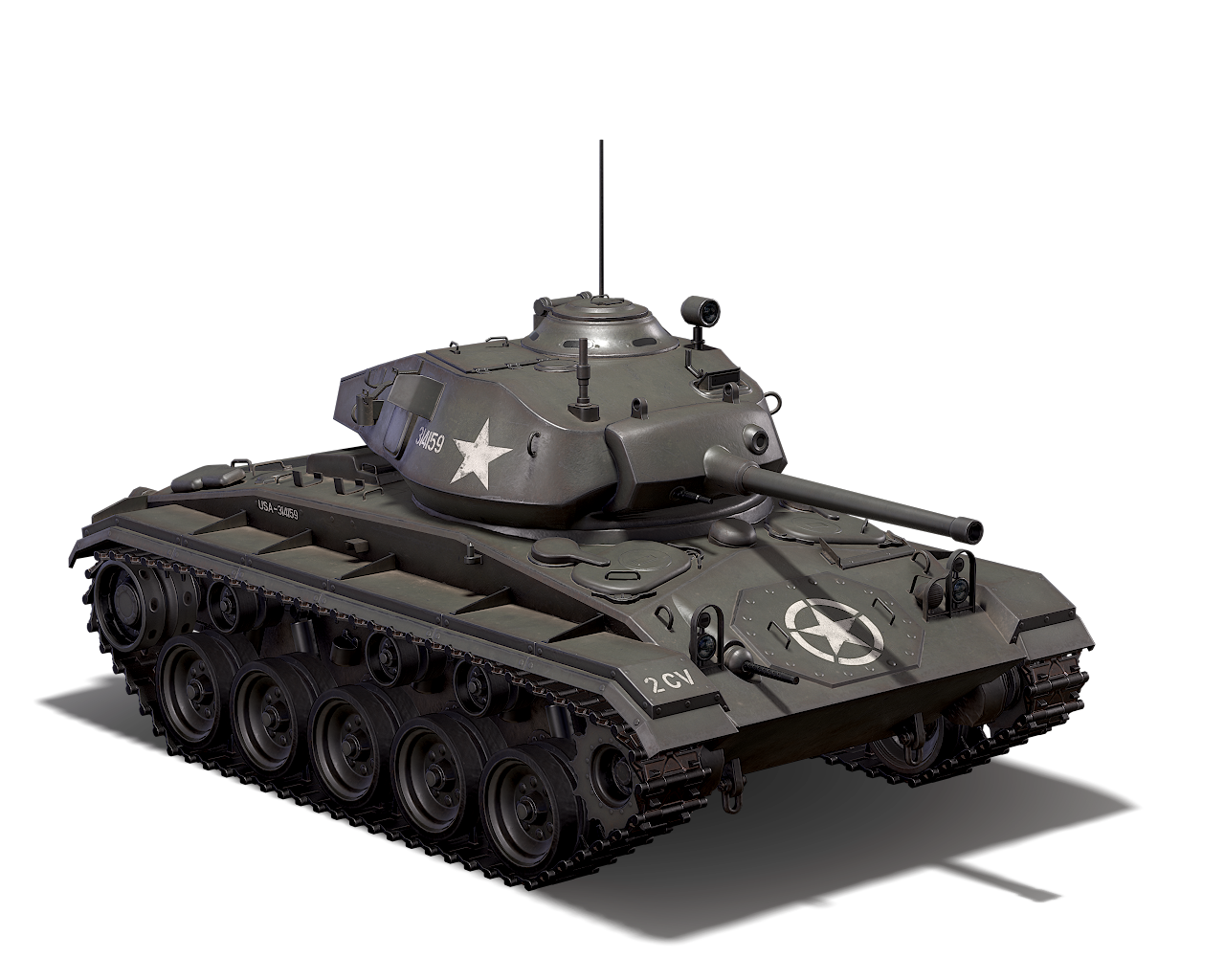 M24 Chaffee Official Heroes Amp Generals Wiki