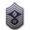 Chief Master Sergeant (Diamond denotes First Sergeant)