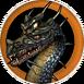 Чёрный дракон - иконка - H4