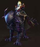 Лига Теней-H7-герой магии-мужчина-геймплей