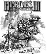 Концепт-арт обложки (HoMM III)