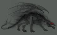 Призрачный дракон-H5-концепт-арт