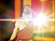 Гэвин применяет магию Света