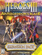 Heroes of Might and Magic III Armageddon's Blade - постер
