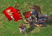 Рыцарь-H5-в бою