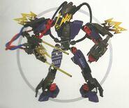 HERO FACTORY - Voltix (Prototype)
