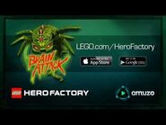 LEGO® Hero Factory Brain Attack - Official Game Trailer
