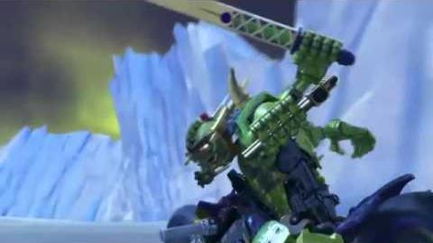 Hero Factory Character Spot - Speeda Demon (Better Quality)