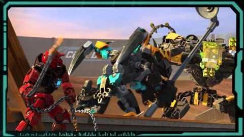 LEGO Hero Factory 44021 SPLIITTER Beast vs FURNO & EVO