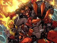 Fire Villains (European Promotional Comic Version)